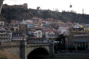 Old Tbilisi in evening