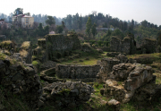 Petra castle ruins near Batumi