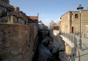Bathhouses area Tbilisi