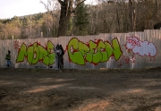 More green graffiti