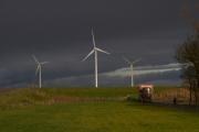 windmolens in Noord-Groningen