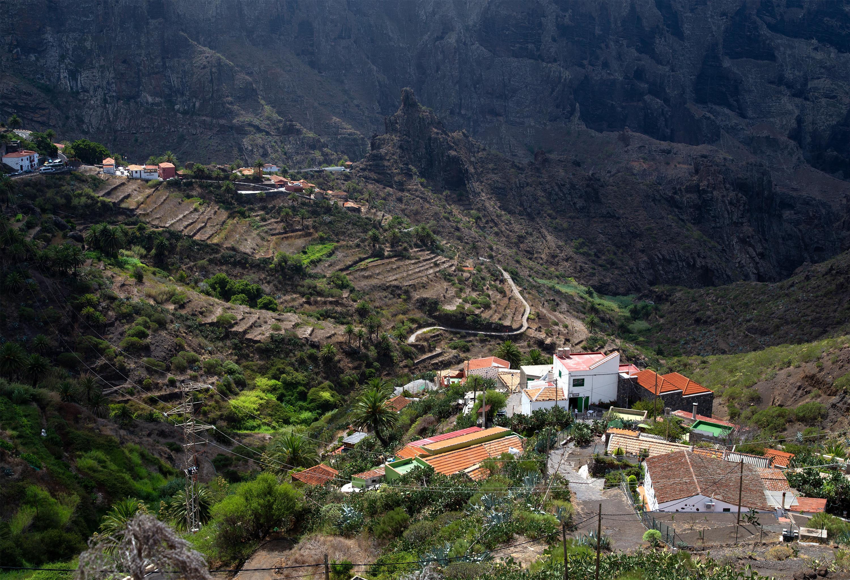 Het dorp Masca