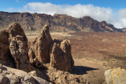 In Parc Nacional del Teide (vulkaan)